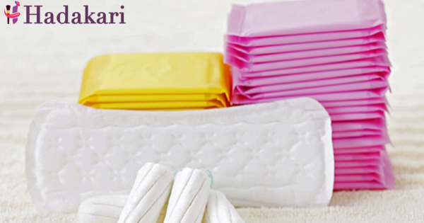Choose the correct sanitary napkin