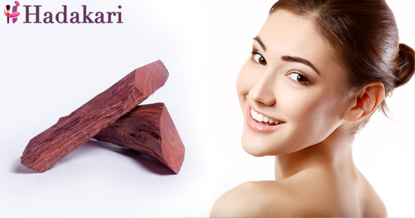 Red sandalwood for skin problems
