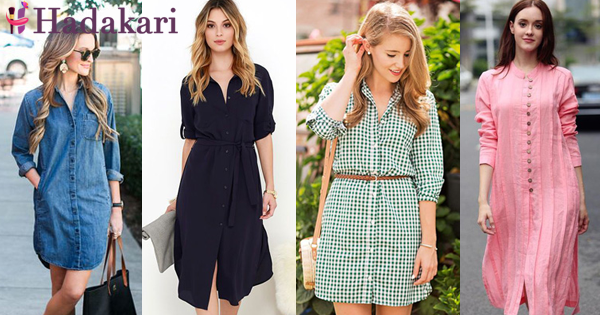 Shirt dress inspirations to stand out like a diamond
