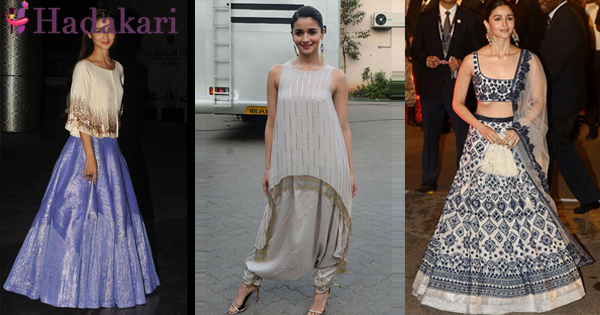 Alia Bath's simple but stunning fashion