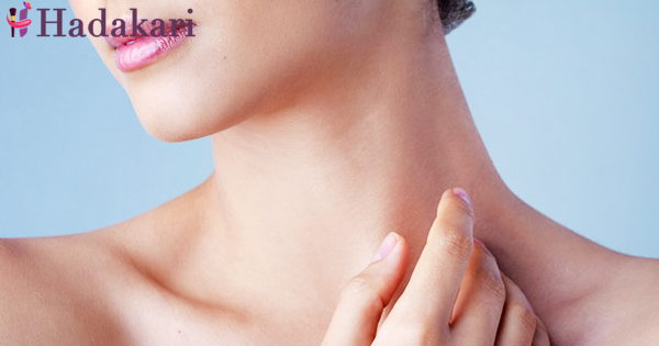 Do not forget beauty of your neck