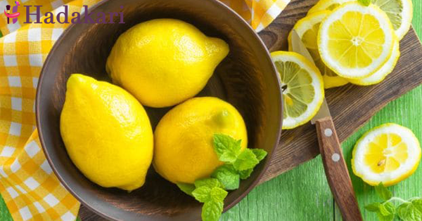 Lets see what happens if you drink lemon for one week