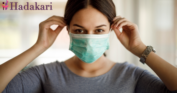 Why do we get throat ache when using masks?